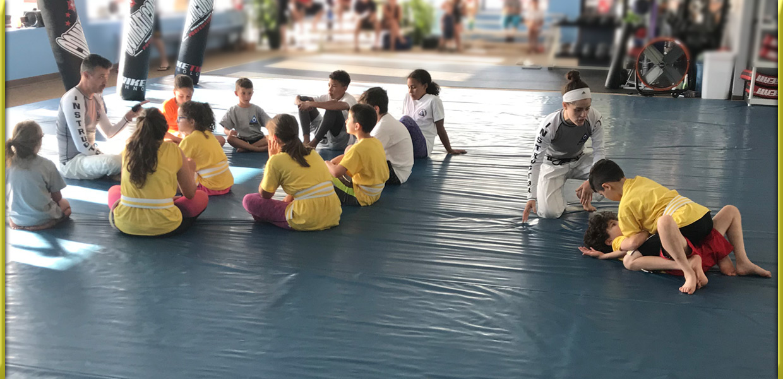 Coaches Teaching Kids Krav